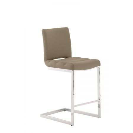 Storm Breakfast Bar Stool-Taupe