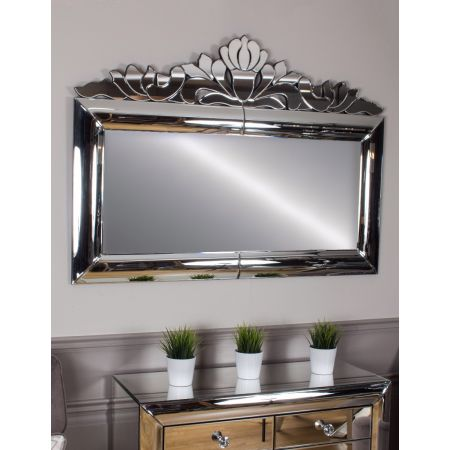 Monroe Overmantle Mirror