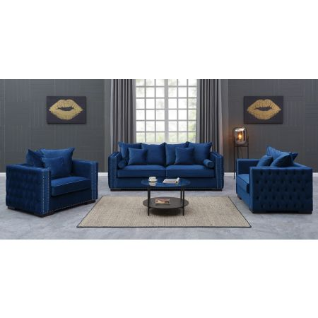 Moscow 2+1+1 Suite Royal Blue
