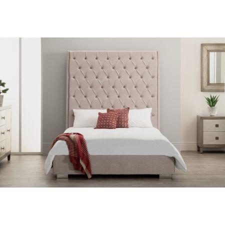 Nevada Bed - King - Beige