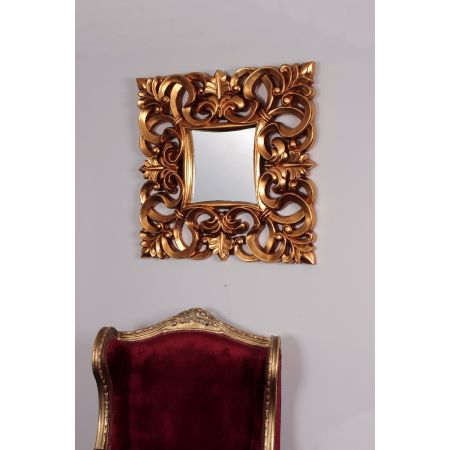 Naples Mirror - Gold