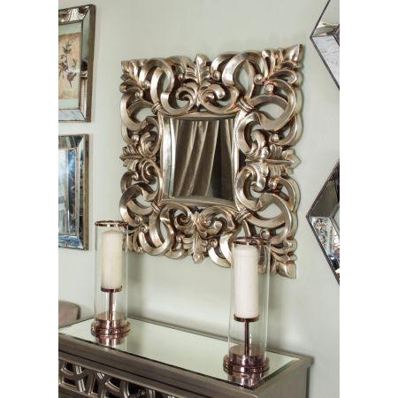 Naples Mirror - Silver