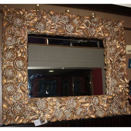 3D Rose Mirror