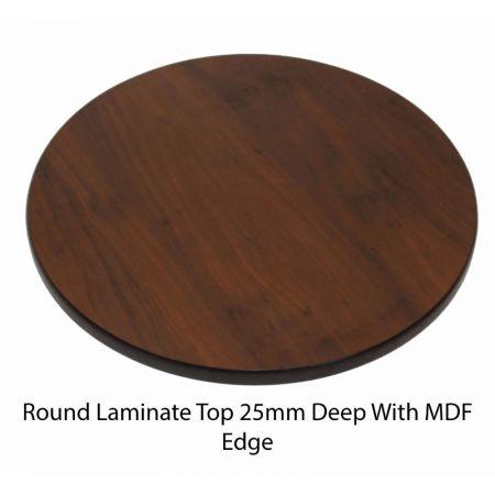 Round Laminate Top