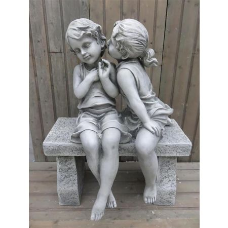Boy & Girl Kissing