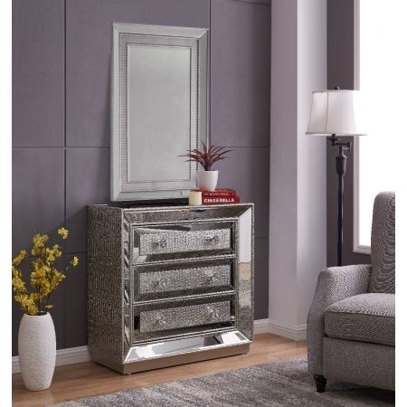 Sofia 3 Drawer Chest & Mirror