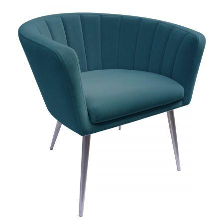 Lillie Tub Chair - Teal