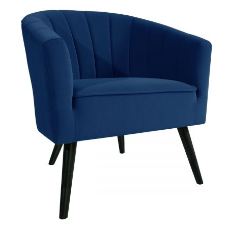 Arlo Tub Chair - Blue