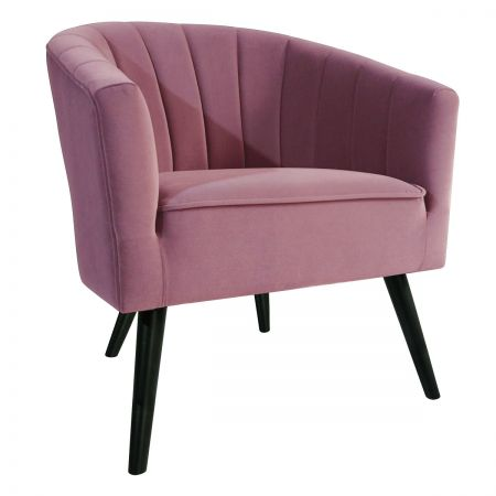 Arlo Tub Chair - Pink