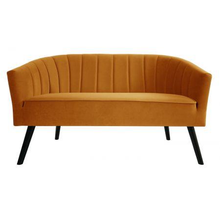 Arlo 2 Seater Sofa - Mustard