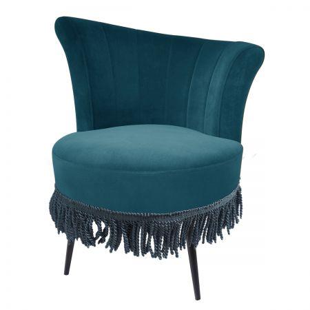 Rita Cocktail Chair - Teal