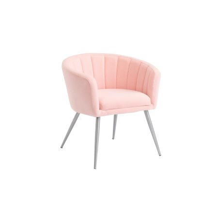 Lillie Tub Chair - Pink