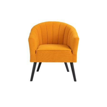 Arlo Tub Chair - Mustard