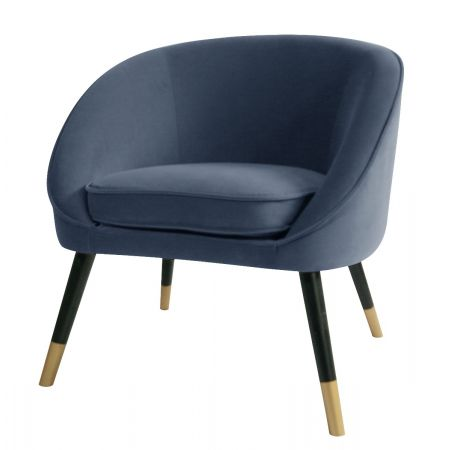 Oakley Tub Chair-Navy