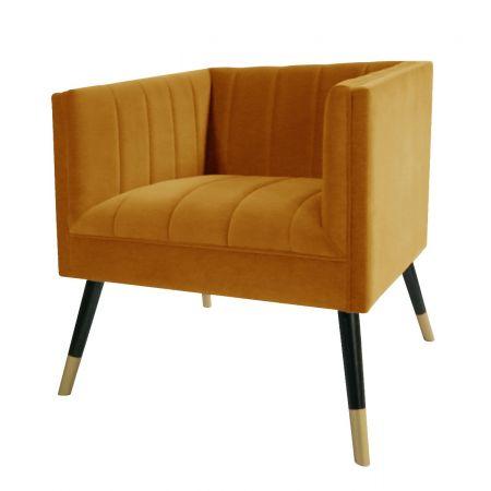 Jackson Tub Chair-Mustard