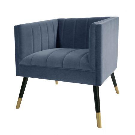 Jackson Tub Chair-Navy