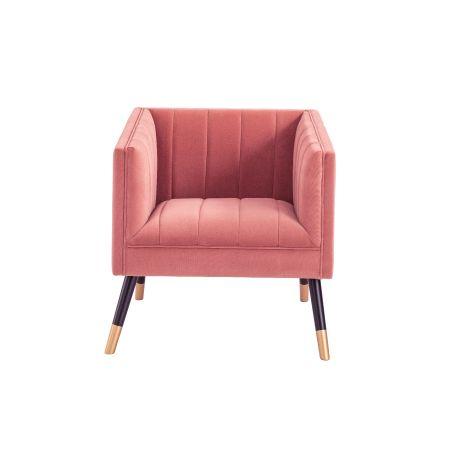 Jackson Tub Chair-Pink