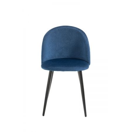 Lotus Chair- Royal Blue (Set of 4)