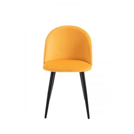 Lotus Chair- Honey Yellow (Set of 4)