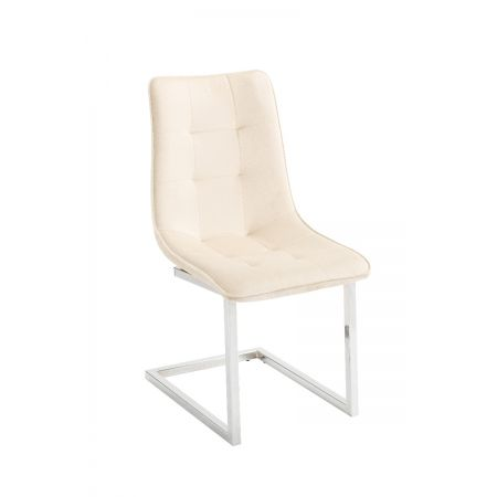 Ollie Dining Chair - Cream (Set of 2)