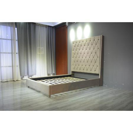 Nevada Bed - Double - Beige