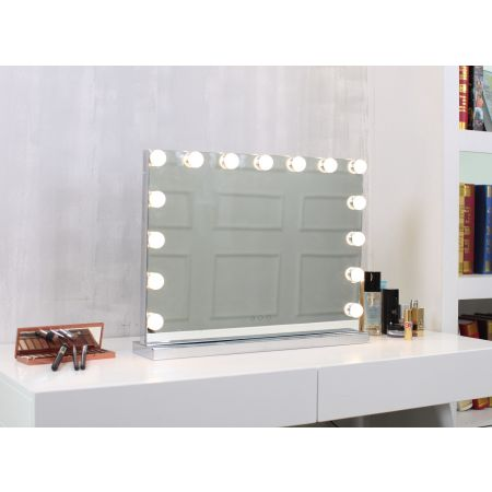 Hollywood Table Top Mirror Med