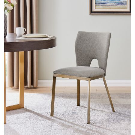 Ella Dining Chair - Beige Linen