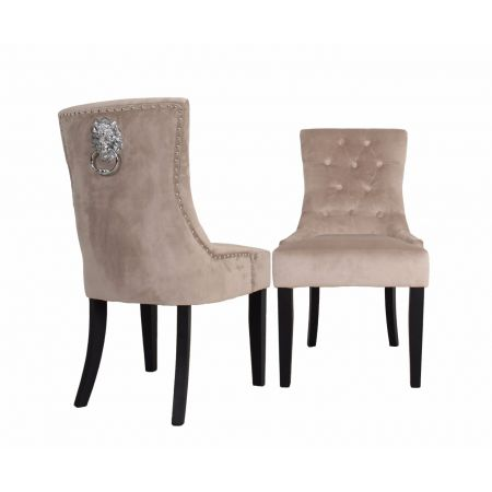 Lion Dining Chair Cream