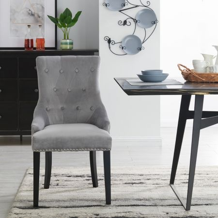 Lion Dining Chair Silver