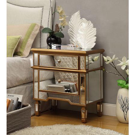 Imperial 2 Drawer Side Table