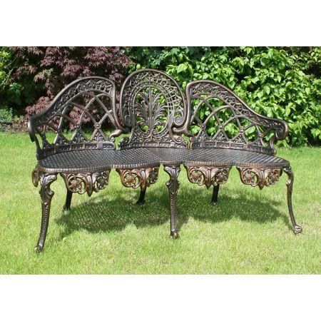 Coalbrook Bench - Bronze