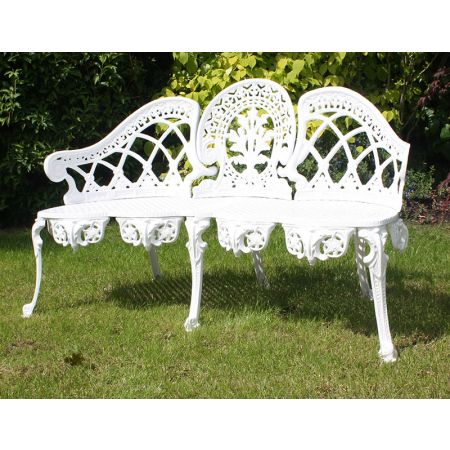 Coalbrook Bench -White